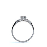 Platinum Diamond  Engagement Ring #2621-04 - Leigh Jay & Co.