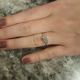 Replica Art Deco Engagement Ring #2650-10 - Leigh Jay & Co.