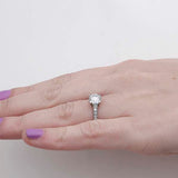 Replica  Art Deco Engagement Ring #2675-36 - Leigh Jay & Co.