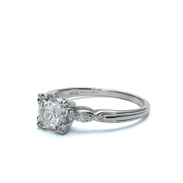 Replica Art Deco Engagement Ring #3008-9 - Leigh Jay & Co.