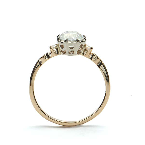 Replica Edwardian Engagement Ring #3023-8 - Leigh Jay & Co.