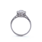 Replica Edwardian Engagement Ring #439054