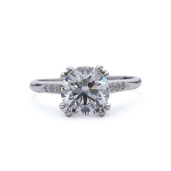 Replica 1930s engagement ring #3104-11 - Leigh Jay & Co.