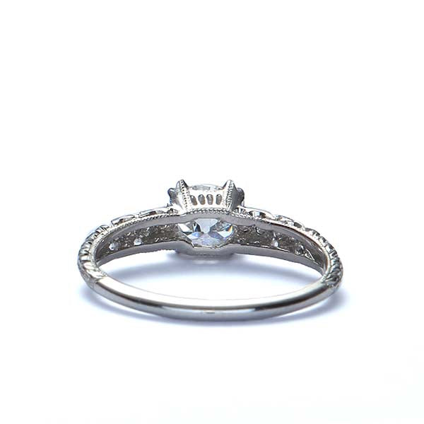 Replica Art Deco Engagement Ring #3107-3 - Leigh Jay & Co.
