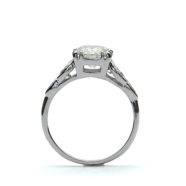 Replica Art Deco Engagement Ring #446328 - Leigh Jay & Co.