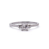 Reproduction Art Deco Engagement ring #3149-03 - Leigh Jay & Co.