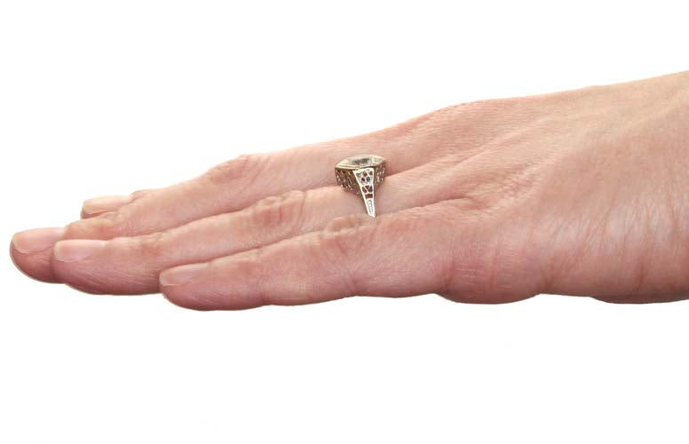 14k  Solitaire  Engagement Ring #461393 - Leigh Jay & Co.