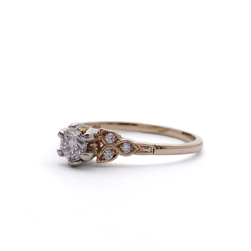 Replica Art Deco  Engagement Ring #3188-04 - Leigh Jay & Co.