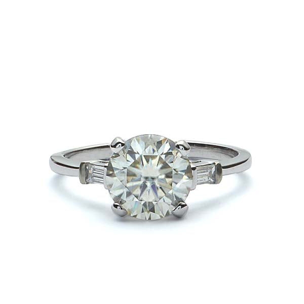 Replica Retro 1940s Engagement Ring #483249 - Leigh Jay & Co.