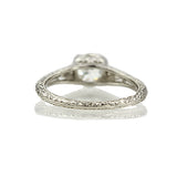 Replica Edwardian Engagement Ring #3257-16 - Leigh Jay & Co.