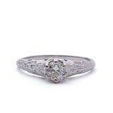 Reproduction Edwardian Engagement Ring #508998 - Leigh Jay & Co.
