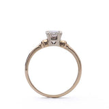 Replica 1940s solitaire engagement ring #512802