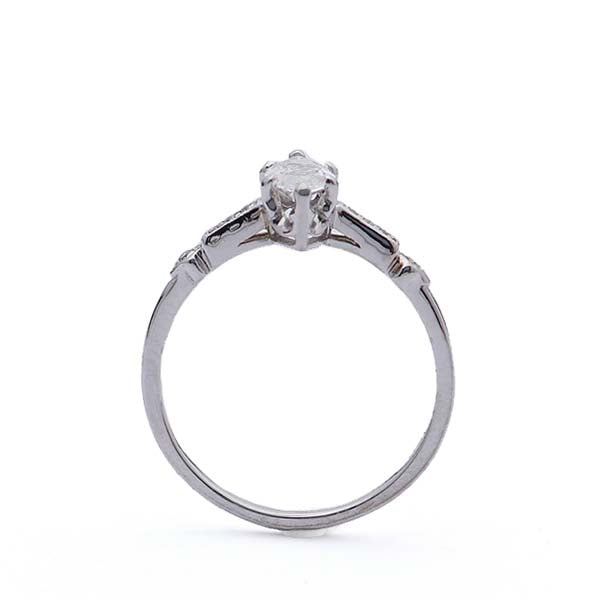 Replica Art Deco Marquise Diamond Engagement Ring #516820