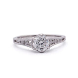 Enchanting replica Edwardian Engagement Ring #3330-6 - Leigh Jay & Co.