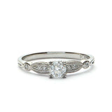 Replica Art Deco  Engagement Ring #523941 - Leigh Jay & Co.