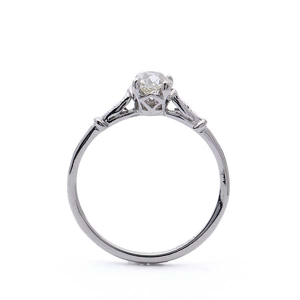 Replica Belle Epoque engagement ring #3338-8 - Leigh Jay & Co.