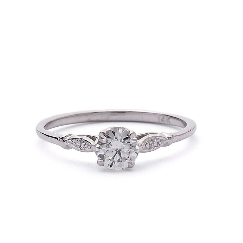 Replica Belle Epoque engagement ring #3338-9 - Leigh Jay & Co.