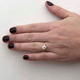 Replica Early Art Deco Diamond Engagement Ring #3400-3 - Leigh Jay & Co.