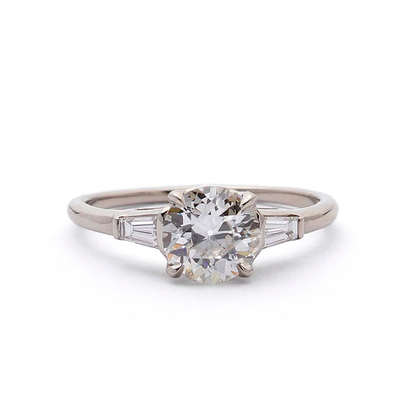 Replica 1930s Engagement Ring #3415-1 - Leigh Jay & Co.
