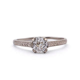 Engagement ring #L3423 14kt - Leigh Jay & Co.