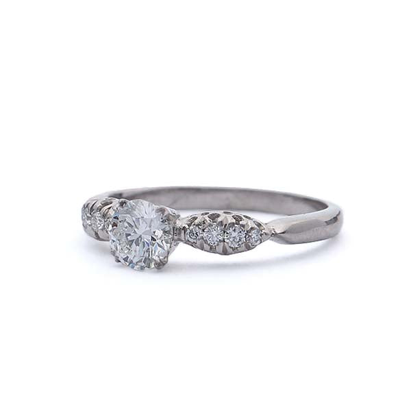 Platinum replica 1930s engagement ring #564302
