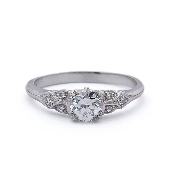 Replica 1930s Engagement Ring #565397 - Leigh Jay & Co.