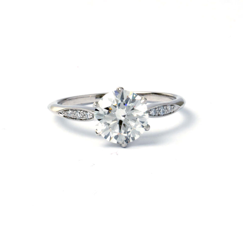 Replica Art Deco Engagement Ring #3454-3