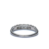 Circa 1950s Diamond Wedding Band #3r088-14 - Leigh Jay & Co.