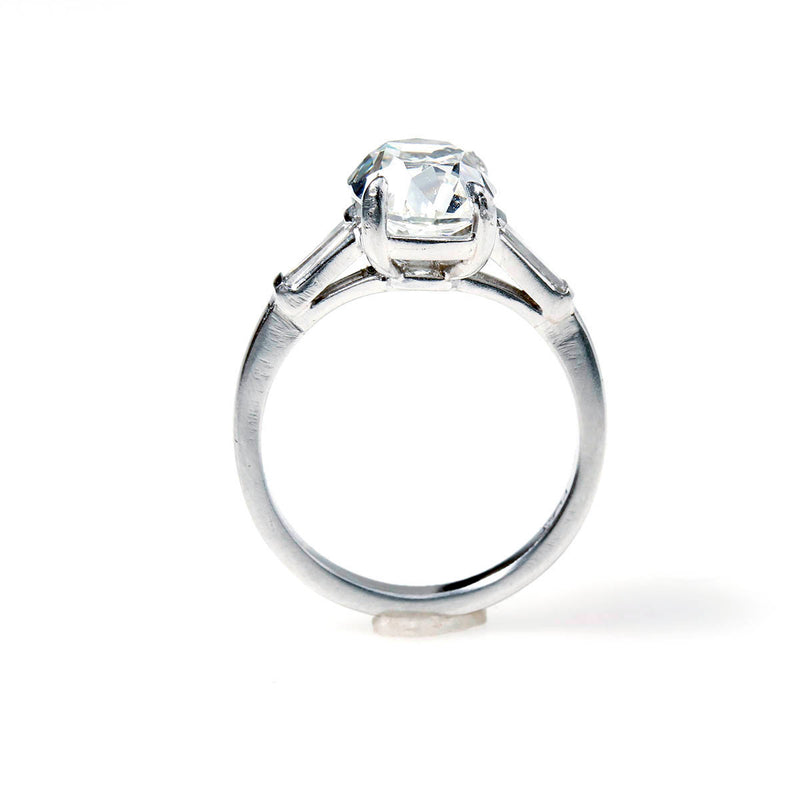 Old Mine Cushion Cut Diamond Engagement Ring #VR201125