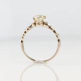 Replica Art Nouveau Engagement Ring #3383-2 - Leigh Jay & Co.