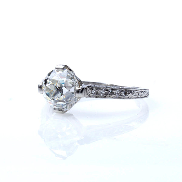 Early Art Deco Engagement Ring #VR191108-1-1