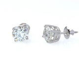 Lab-Grown Diamond Stud Earrings 3.02 carats total weight #STUDS302LG