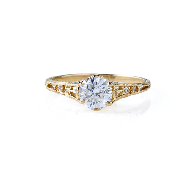 Enchanting replica Edwardian Engagement Ring #3330-11