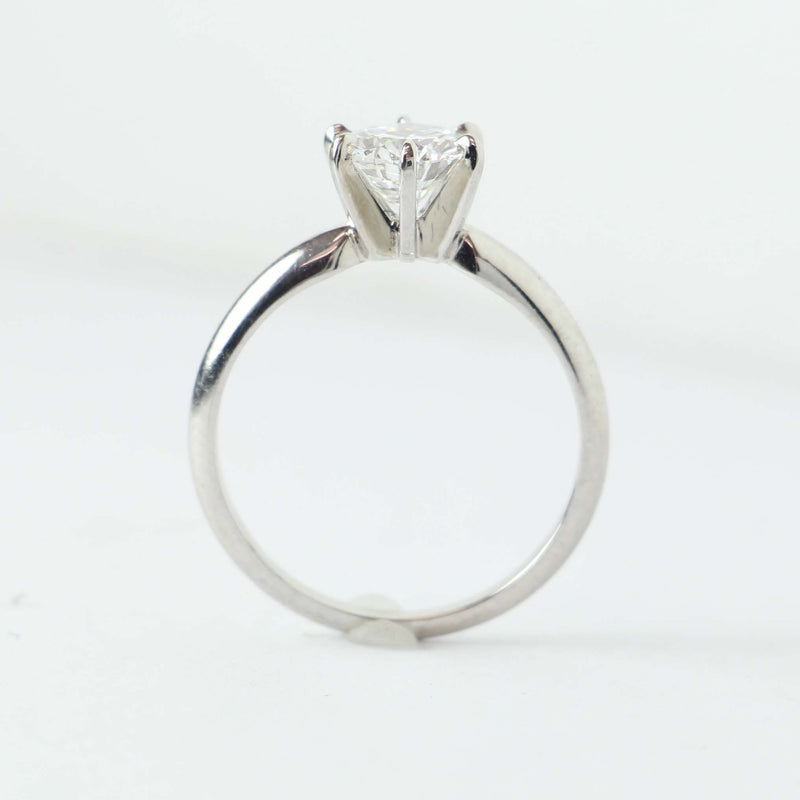 Contemporary Engagement Ring with D Flawless Center stone #VR200716-1 - Leigh Jay & Co.