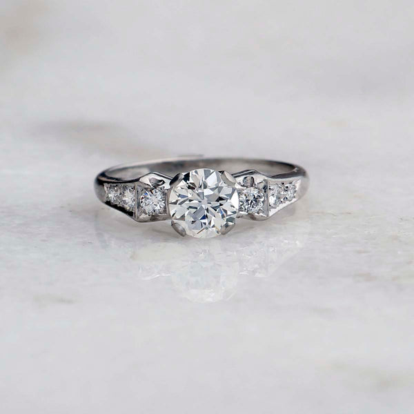 Circa 1930s Engagement Ring #VR191107-2 - Leigh Jay & Co.