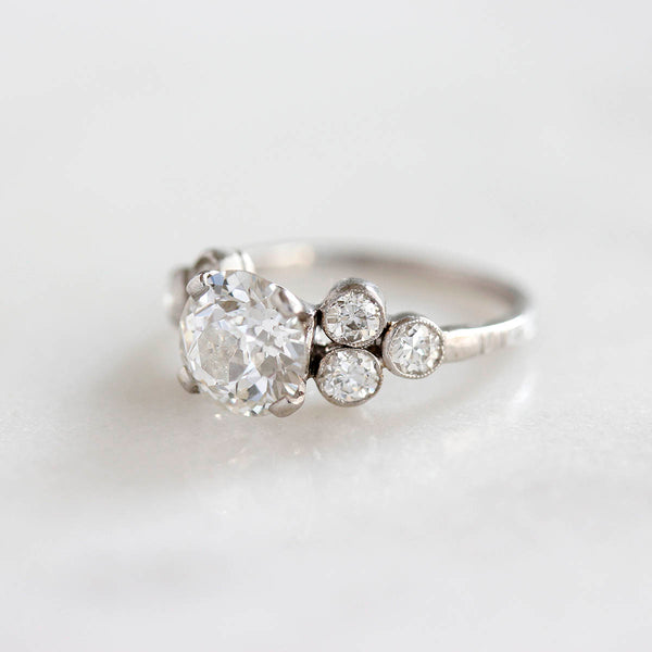 Stunning Art Deco Engagement Ring #VR200715-1 - Leigh Jay & Co.