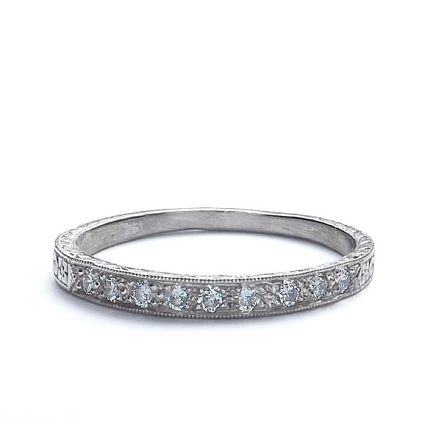 Platinum Wedding Band #L1000 Plat-1 - Leigh Jay & Co.