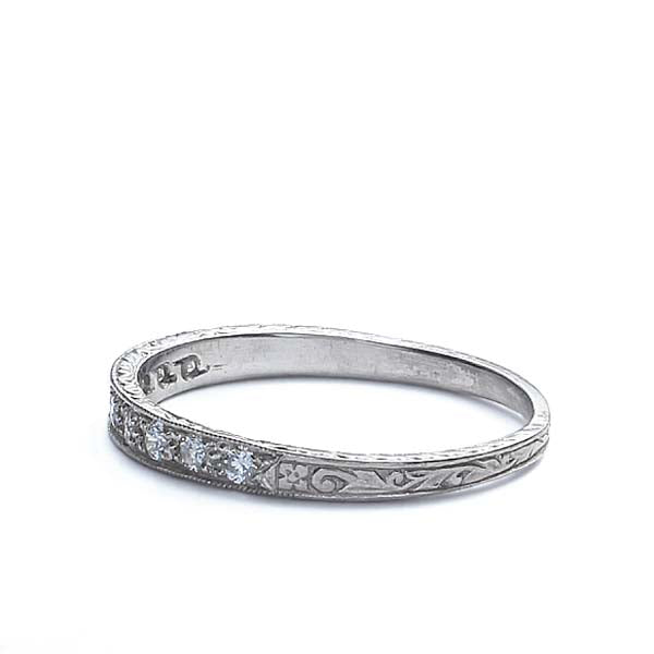 Platinum Wedding Band #L1000 Plat - Leigh Jay & Co.
