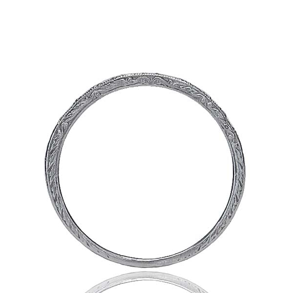 14k Wedding Band #L1000 14k-1 - Leigh Jay & Co.