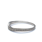 Replica Art Deco Wedding band #L1011 14K-1 - Leigh Jay & Co.