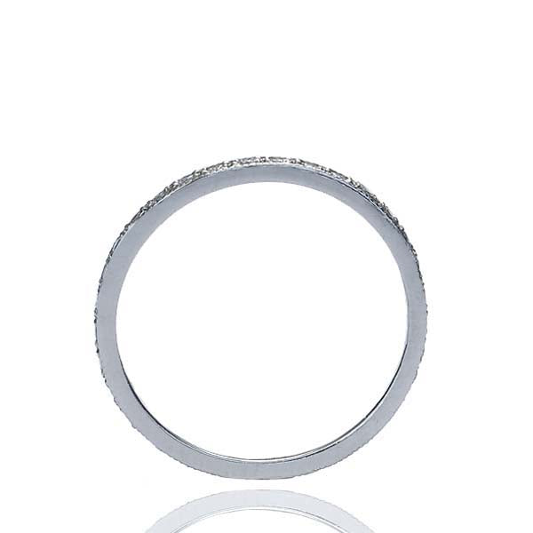 Platinum Diamond Eternity band #L1107 PLAT-1 - Leigh Jay & Co.
