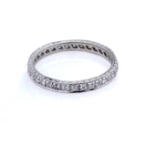 14k Diamond Eternity Band #L1108D 14K-1 - Leigh Jay & Co.