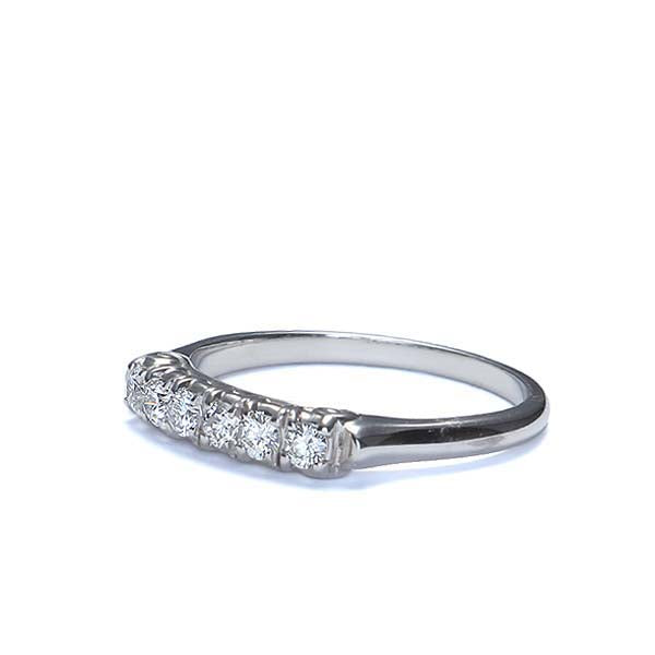 18k Diamond Wedding Band #L1277 18K - Leigh Jay & Co.