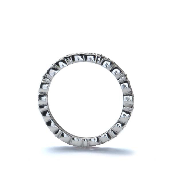 Platinum Diamond Eternity Wedding Band #L1287 PLAT - Leigh Jay & Co.