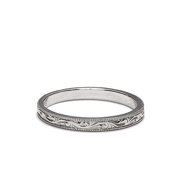 Platinum Wedding Band #L1506 PLAT - Leigh Jay & Co.