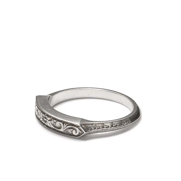 14k Wedding Band #L1509 14K - Leigh Jay & Co.