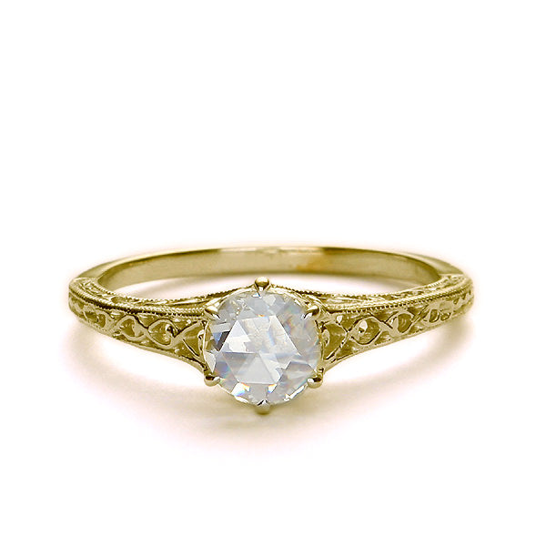 Replica Edwardian engagement ring #L1901 - Leigh Jay & Co.