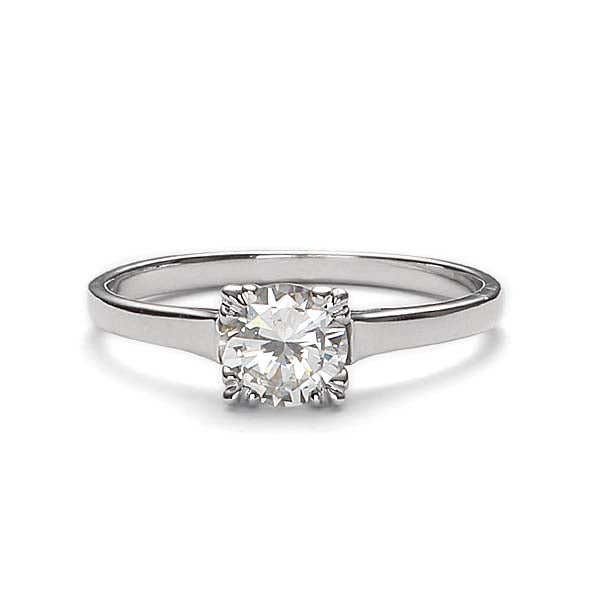 Replica 1940s engagement ring #L1941 - Leigh Jay & Co.