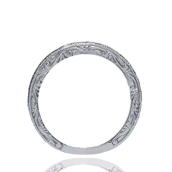 14k Diamond Wedding Band #L2376WB 14K - Leigh Jay & Co.