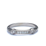 14k Diamond Wedding Band #L2454 WB 14K - Leigh Jay & Co.